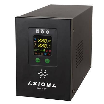 Гибридный ИБП+стабилизатор 800ВА 500Вт 12В + MPPT контроллер 20А 12В, AXEN.IS-800 AXIOMA energy, фото 2