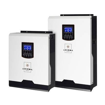 Гибридный ИБП 3000Вт, 24В + ШИМ контроллер 50А, ІSPWM 3000, AXIOMA energy, фото 2