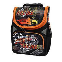 "Рюкзак коробка ""Racing"" 13,5"" 3отд., ортоп., светоотраж. //"
