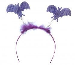 Обруч с летучими мышами (фиолетовый)!!!