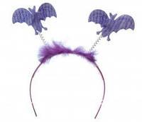 Обруч с летучими мышами (фиолетовый)!!!, фото 1