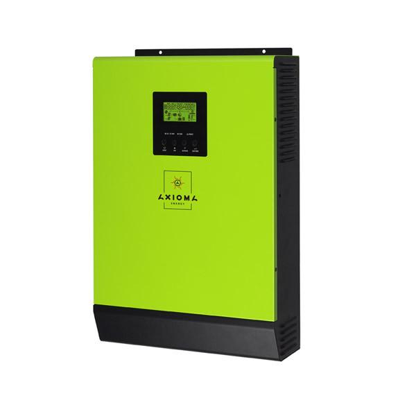 Сетевой инвертор + Резерв 3кВт, 48В, ISGRID BF 3000,-Работает без АКБ  AXIOMA energy