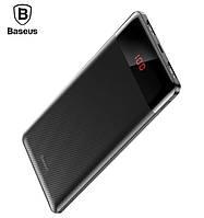 Внешний аккумулятор павер банк портативное зарядное  Power Bank  Baseus Mini Cu digital display 10000mAh