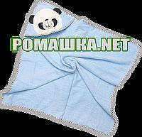 Детское махровое уголок-полотенце для новорожденных после купания, 85х85 см, 100% хлопок 3202 2