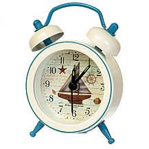 """Часы-будильник """"Морская символика"""" (рандомный выбор дизайна), фото 2"""