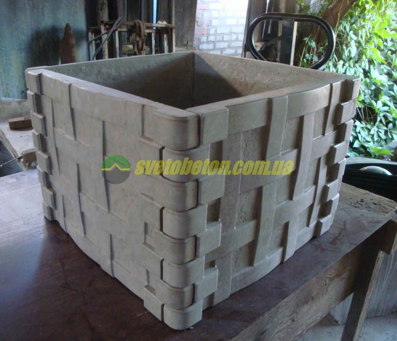 Цветочные клумбы из бетона купить бетон w4