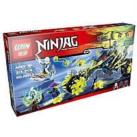 """Конструктор Lepin 06012 (Аналог Lego Ninjago 70730) """"Засада на мотоцикле"""" 323 детали, фото 1"""