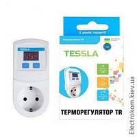Терморегулятор в розетку Tessla TR, +5...+45 С, 220-230 V AC