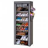 Складной шкаф для обуви на 30 пар Shoe Cabinet Shoe rack, 9 полок.!, фото 2