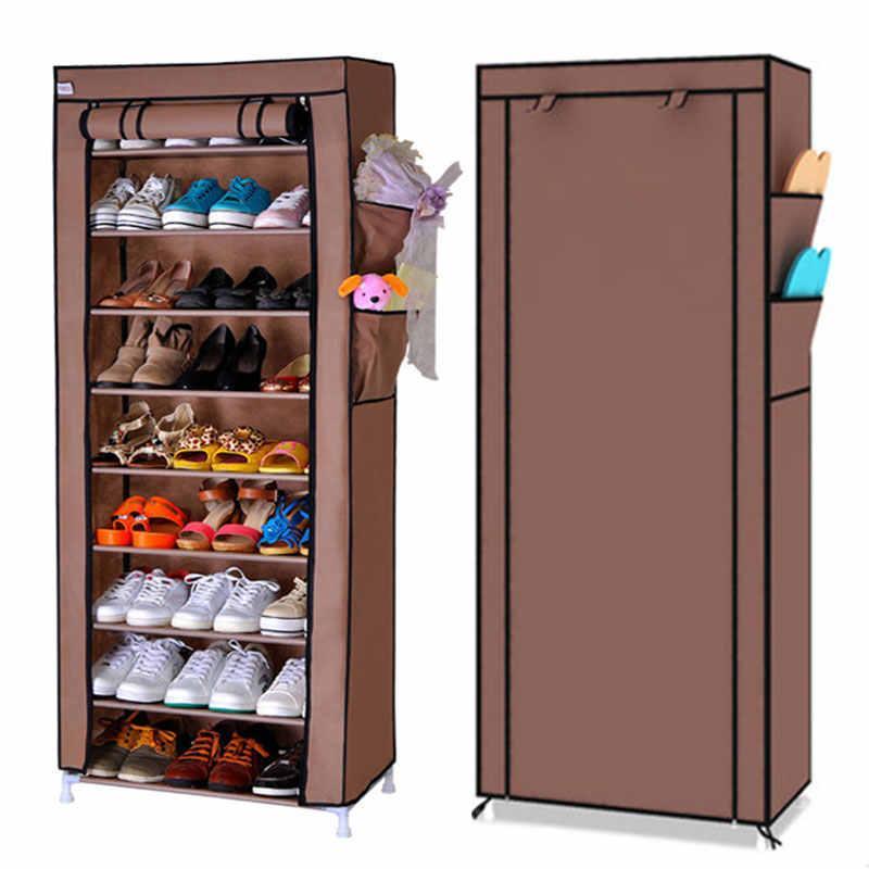 Складной шкаф для обуви на 30 пар Shoe Cabinet Shoe rack, 9 полок.!