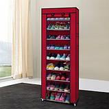 Складной шкаф для обуви на 30 пар Shoe Cabinet Shoe rack, 9 полок.!, фото 3