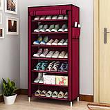 Складной шкаф для обуви на 30 пар Shoe Cabinet Shoe rack, 9 полок.!, фото 4