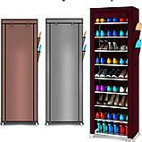Складной шкаф для обуви на 30 пар Shoe Cabinet Shoe rack, 9 полок.!, фото 6