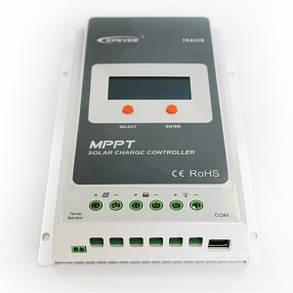 Контроллер Tracer-2210A, MPPT 20A 12/24В Epsolar, фото 2