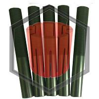 Графитовые кристаллизаторы для машин непрерывного литья Ф8, Ф14, Ф16 и т. д., фото 1