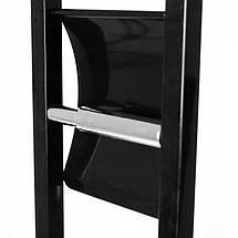 Стойка для туалета с держателем туалетной бумаги и ершиком BAMBOO black, фото 2