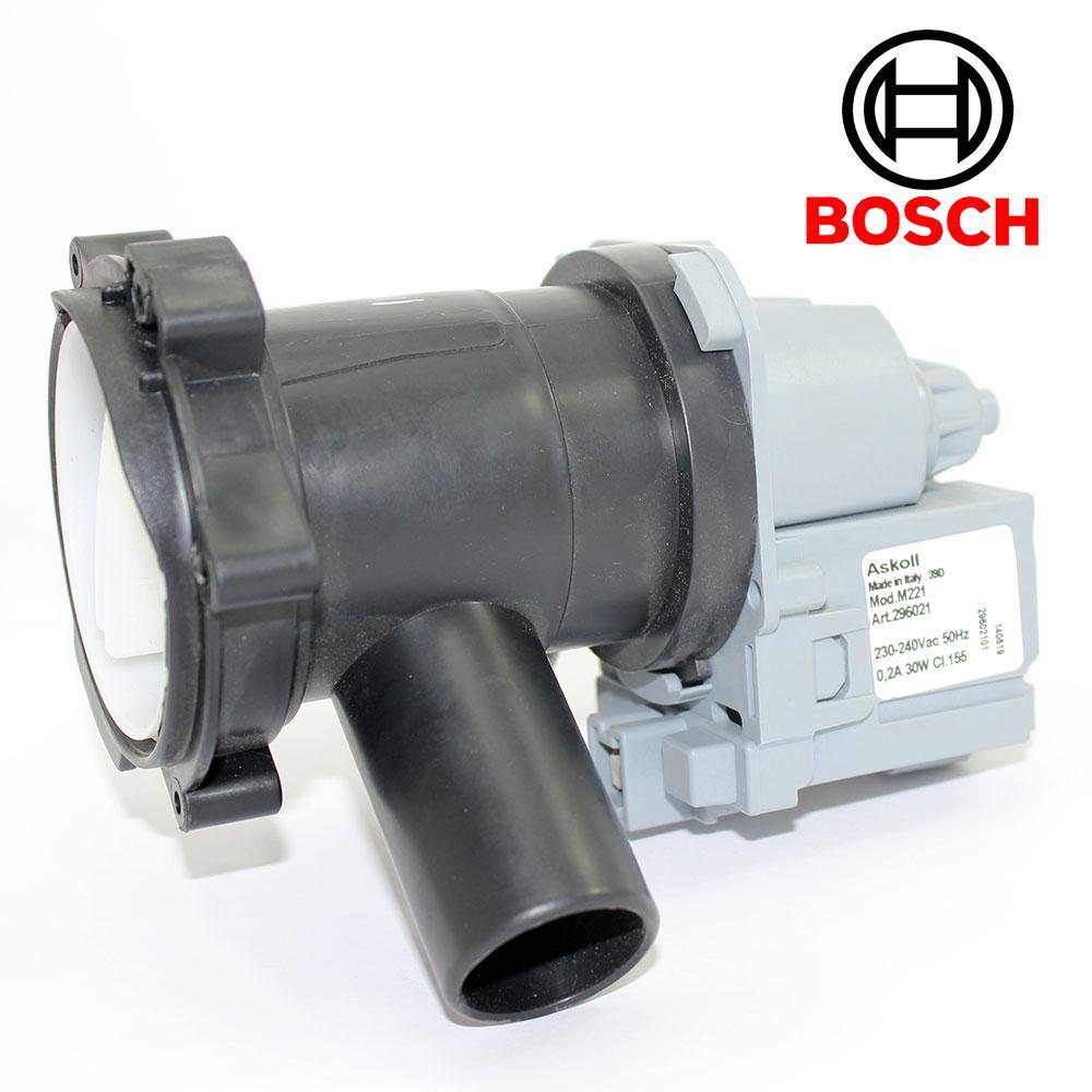 Зливний Насос з корпусом фільтра для пральних машин Bosch, Siemens