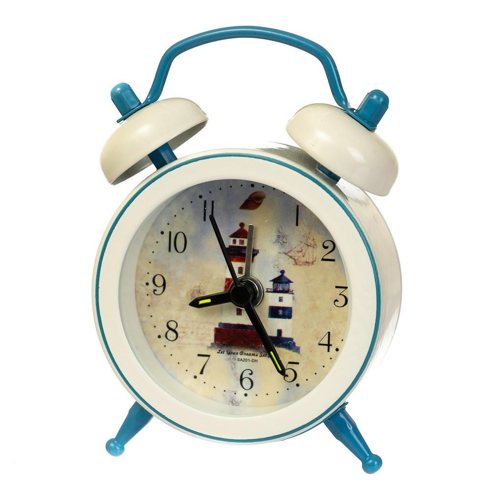 """Часы-будильник """"Морская романтика"""" (рандомный выбор дизайна)"""