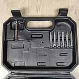 Аккумуляторная отвертка в пластиковом кейсе с набором бит, фото 4