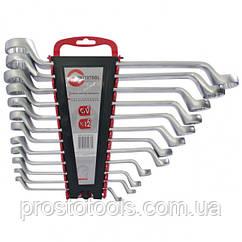 Набор ключей накидных 12ед 6-32 мм Intertool HT-1103