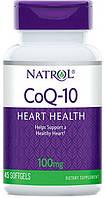 Natrol USA CoQ - 10 , 45 caps 100 mg