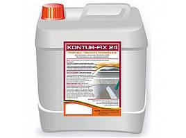 Грунт для стяжки теплого пола Kontur Fix-24 5 л глубокопроникающий