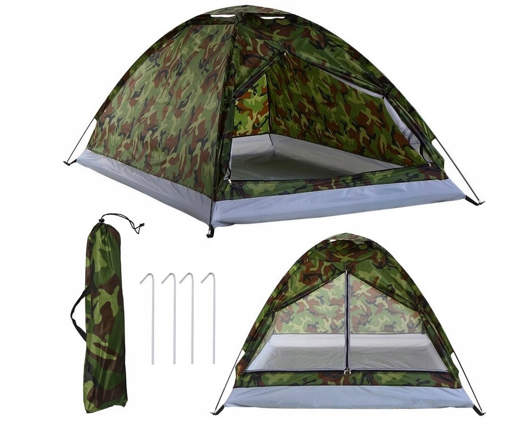 Туристическая палатка 2х2 м  MORO