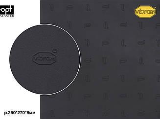 NUVOLA (750P), цв.черный (AA), т.6мм полиуретан Vibram