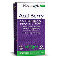 Natrol USA Acai Berry 75 caps 1000 mg