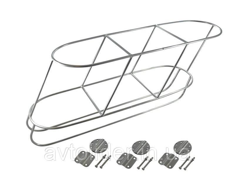 Нержавеющая тройная палубная наклонная корзина для кранцев