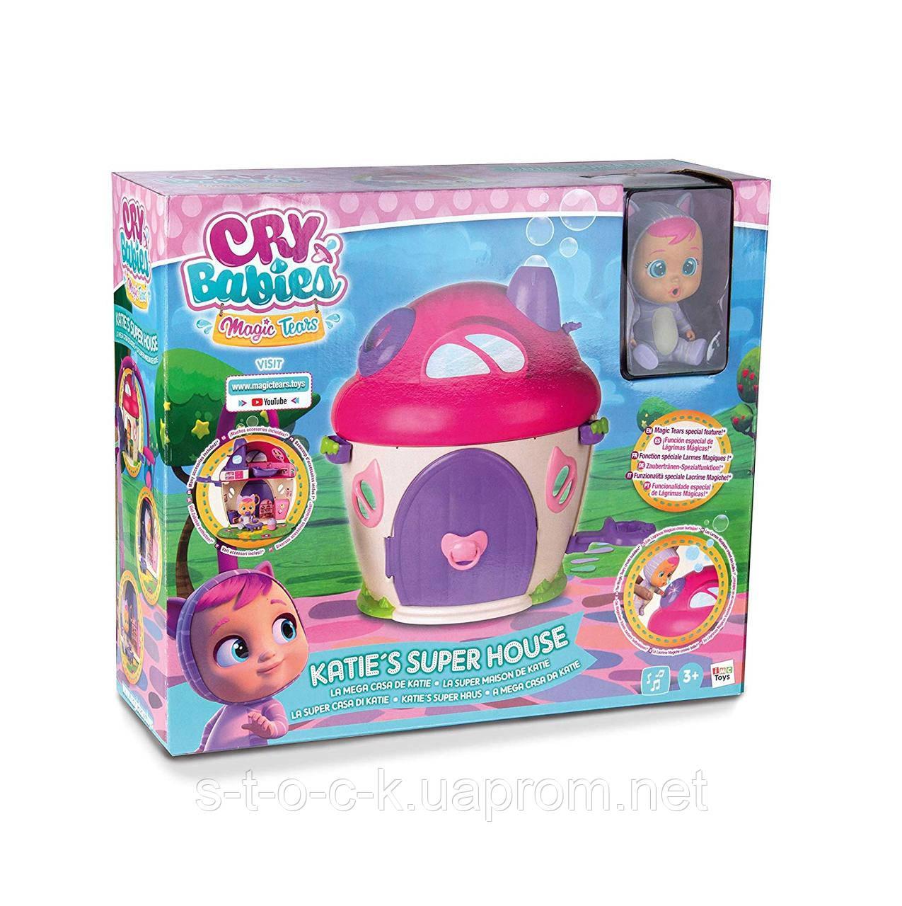 Игровой набор Cry Babies Magic Tears Домик Кэти
