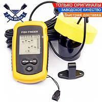 Рыбацкий эхолот Joyle TL88 Fish Finder для зимней и летней рыбалки эхолот с TN/anti-UV LCD дисплеем, до 100 м