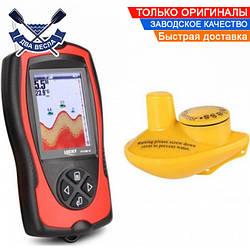 Беспроводной цветной эхолот Lucky FF1108-1CW для зимней и летней рыбалки со встроенным аккумулятором в голове