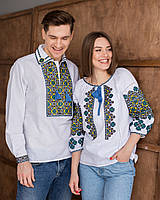 Парні вишиванки чоловіча сорочка і жіноча блуза
