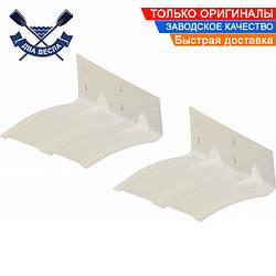 Саморегулируемая транцевая плита Osculati 28х20 см, полиэтилен, содействует глиссированию и повышает стабильно