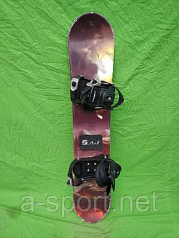 Сноуборд бу Stuf 120 см +  кріплення