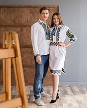 Парні вишиванки чоловіча сорочка і жіноча сукня, фото 3