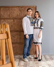 Парні вишиванки чоловіча сорочка і жіноча сукня, фото 2