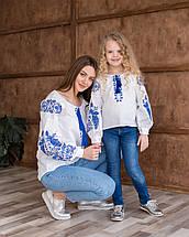 Парні вишиванки для мами та дочки Жарптиця, фото 2