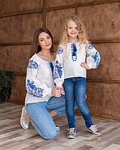 Парні вишиванки для мами та дочки Жарптиця, фото 3