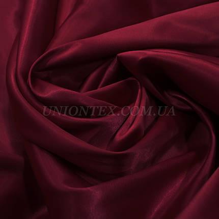 Атлас королевский плотный бордовый, фото 2