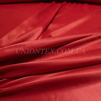 Атлас королевский плотный красный, фото 2