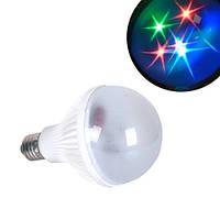 Лампа светодиодная декоративная Звезды E27 LED RGB