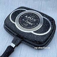 Сковорода гриль двухсторонняя A-Plus Double Pan Fp-1502 (32 см)