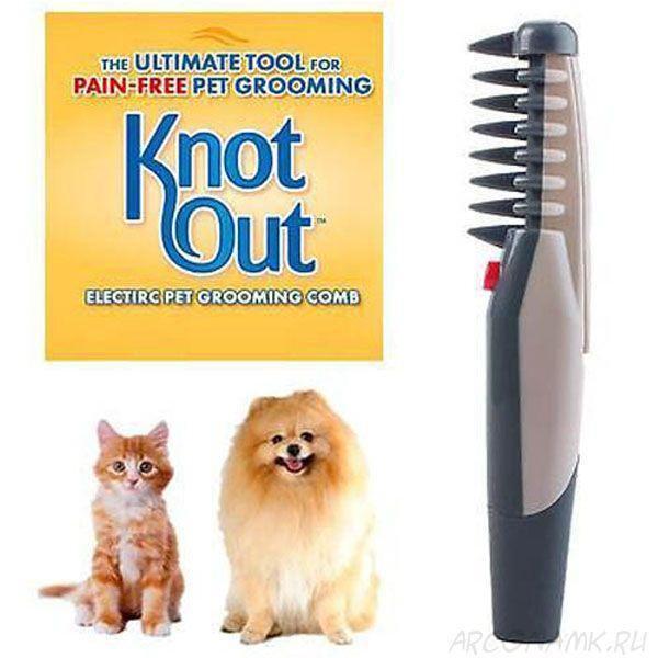 Щетка (расческа)  для животных Knot Out