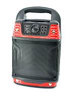 Портативная колонка B-21 (Bluetooth, softouch,USB, micro SD) Red