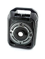 Портативная колонка B328 (Bluetooth, FM, USB, LED дисплей, микрофон + подставка) Black