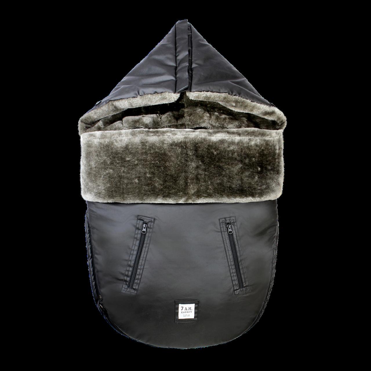 7AM - Универсальный зимний конверт WaxedPOD M/L, цвет Waxed Forest