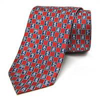 Шелковый галстук с мантрами