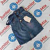 Юбка джинсовая на девочку оптом G66 ИТАЛИЯ 4---14лет